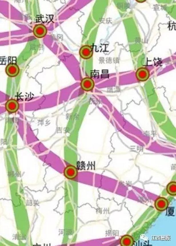 信丰县,全南县,龙南县,定南县,广东省河源市,惠州市和东莞市,接入深圳图片